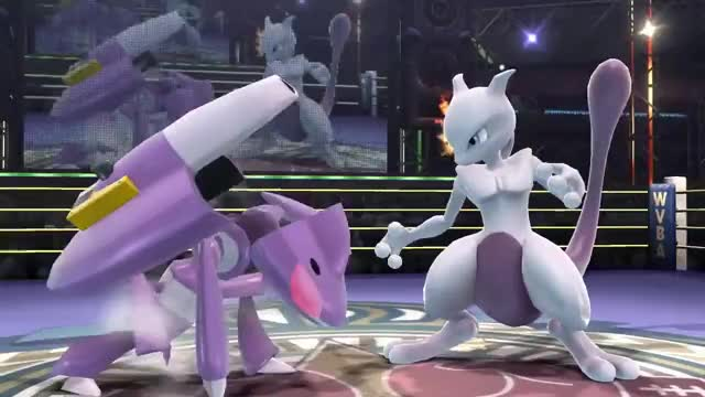 Mewtwo did a running up smash here and not a DACUS right?