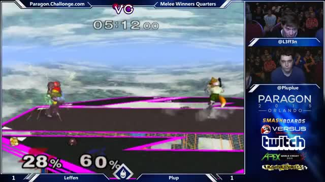 Plup sends Leffen down to Loser's with a neat-o string