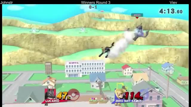 Tricky Lucario movement + reads leads to a kill