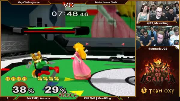 Mew2King's Amazing Fox Combo