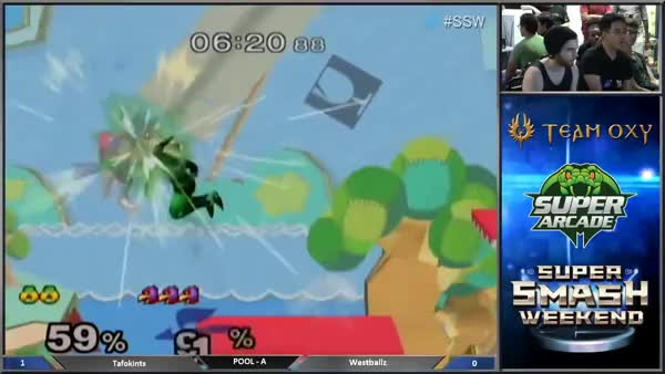 Westballz 0-deaths Tafokints with a Sakurai start