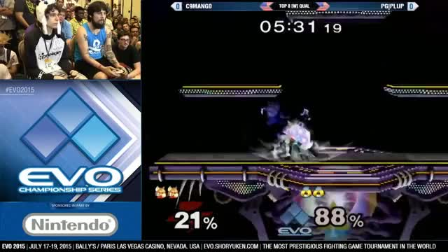 Mang0 showing off vs Plup