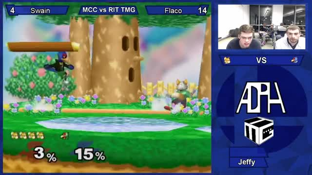 Little flaco combo into fsmash followed by some snipes