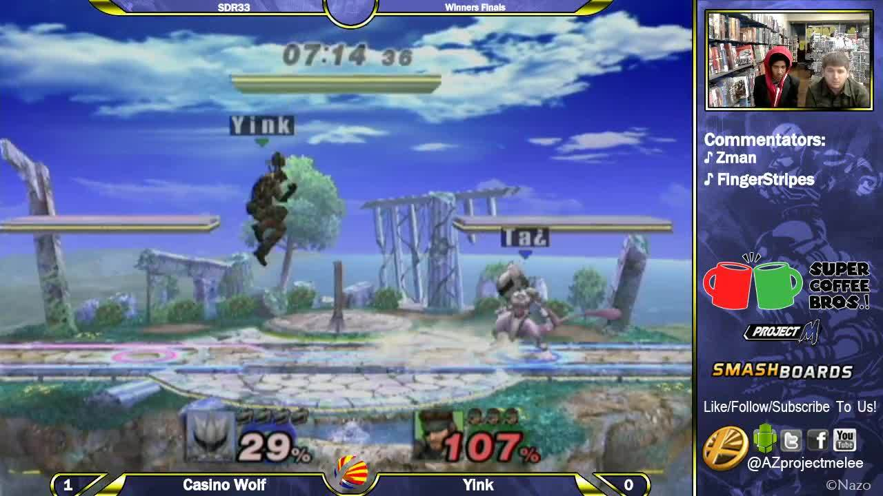 Yink displays the epitome of Snake movement and grenade tech skill