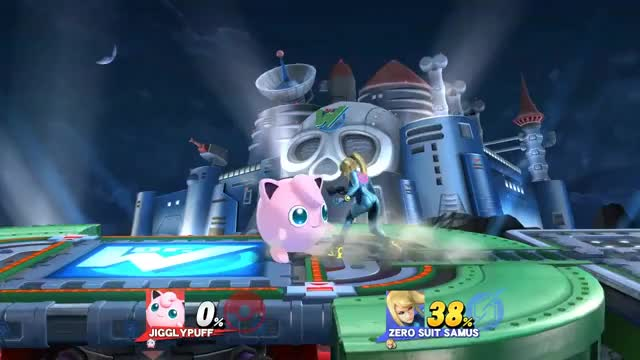 Up-air to Rest isn't the only Melee-esque combo Jigglypuff can pull off…