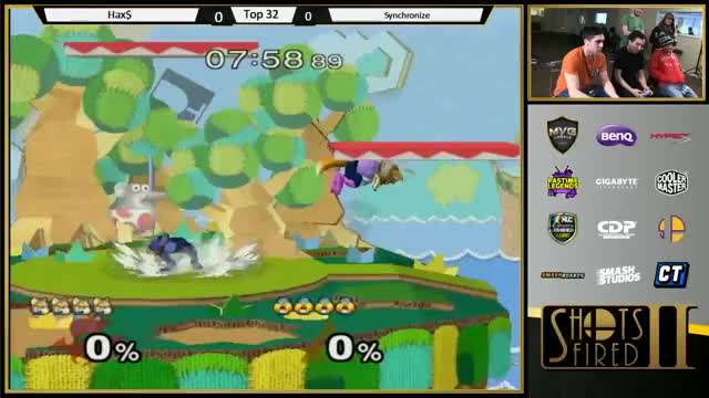 "[Fox] Hax$: ""This is why Sheik is 13th on the tierlist"""