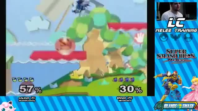 Pichu top tier edge guard