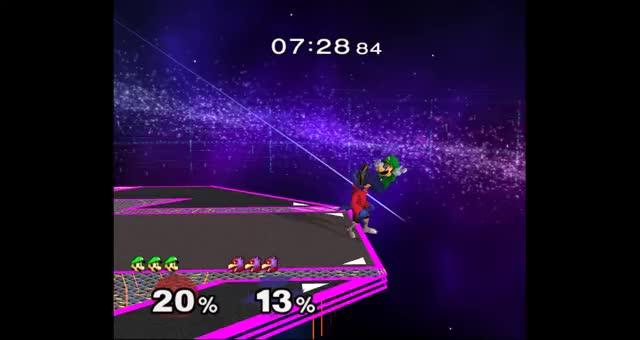 Falco Can, In Fact, Combo Luigi