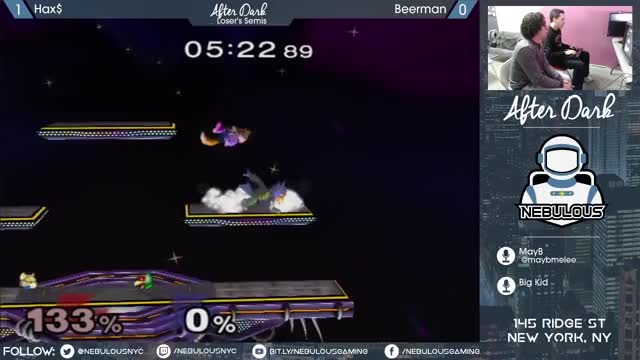 Hax almost completes the comeback on Beerman