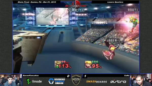 VaNz with the epic Peach punish!
