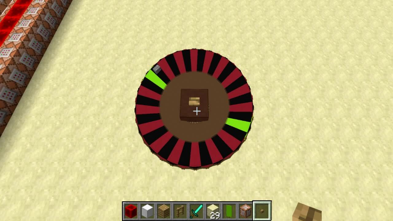 Minecraft roulette table slot machine the book of ra