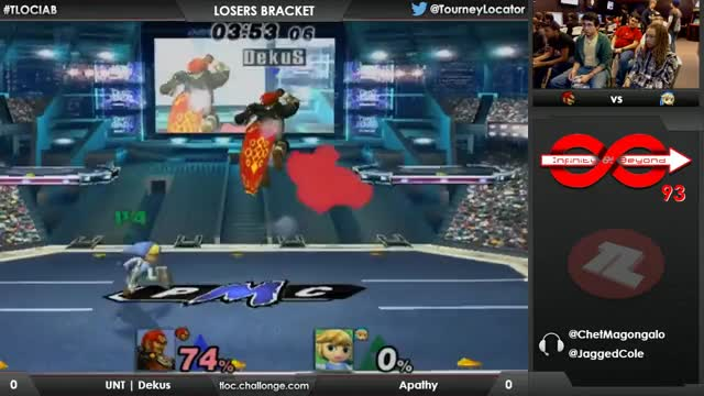 Toon Link combo to finish the match