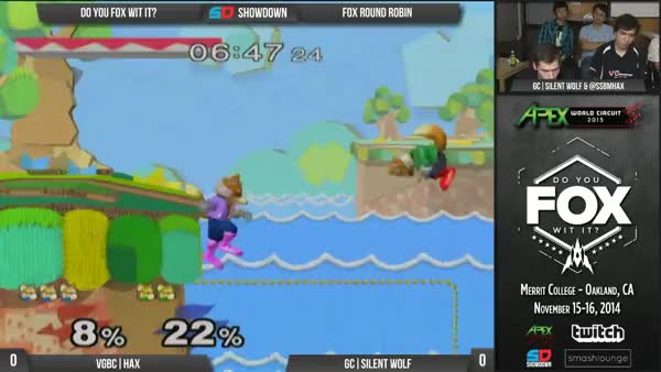 Hax Goes Off on Silent Wolf