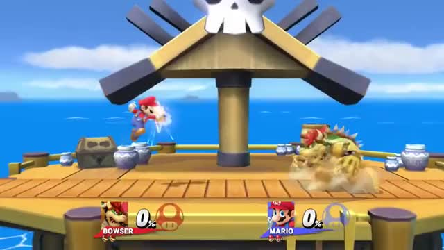 Mario's fed up with Bowser's princess kidnappings