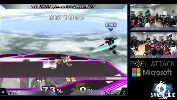 Insane Marth 0 to Death by Quaff in Winner's Finals of Salt Flats 3!