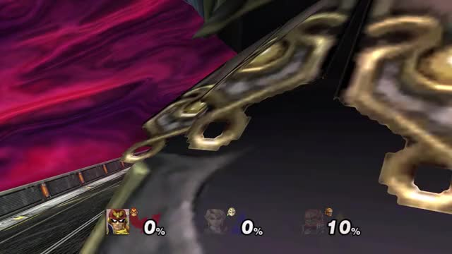 Captain Falcon, are you O.K?