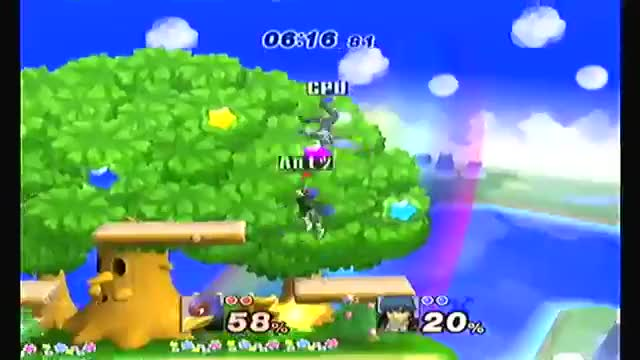 Falco's amazing combo game