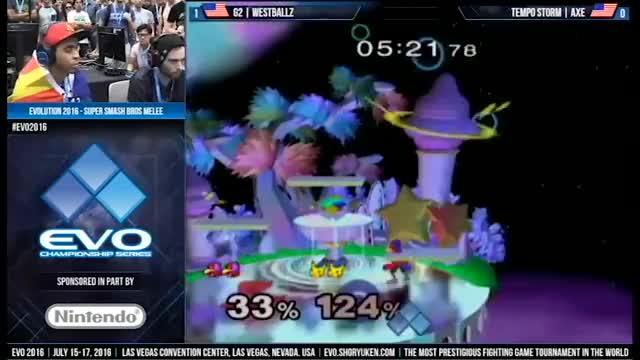 Westballz harnesses the power of sideb to do something other than suicide