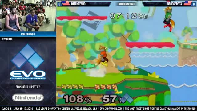 DJ Nintendo with the custom combo on DruggedFox