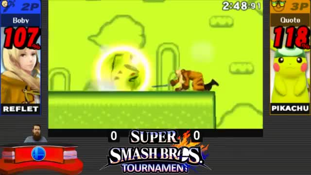 """Pikachu's Custom """"Great Thunder"""" – Return of the Thunder Spike"""