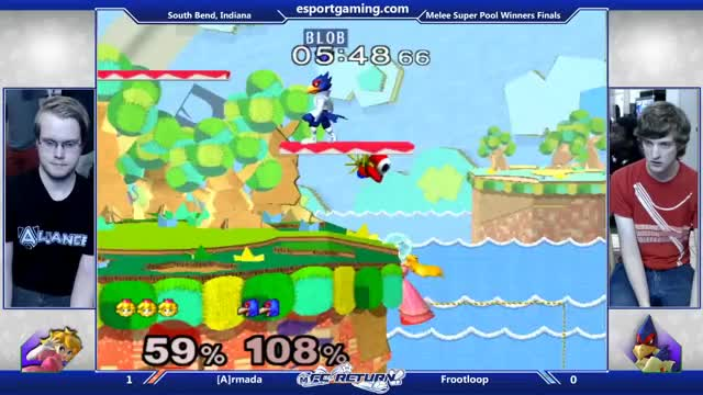 Frootloop with an interesting edgeguard vs Armada