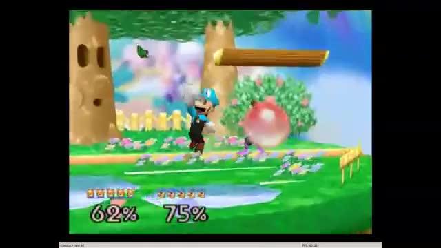 Tr3g Hipstur (Fox) makes Luigi look like a punching bag