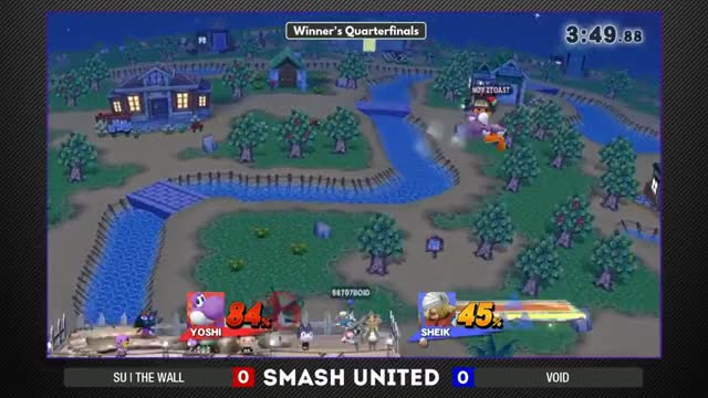 Yoshi things vs Sheik things