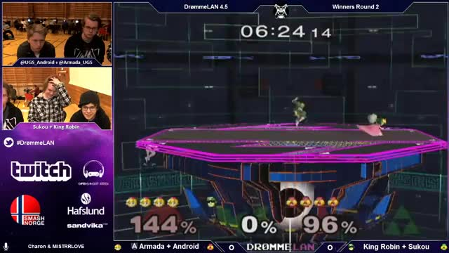 Ruthless team combo from Android and Armada to close out the double-4stock.