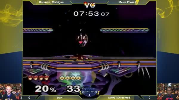 [Marth] Gorgeous extended edgeguard by Dart.