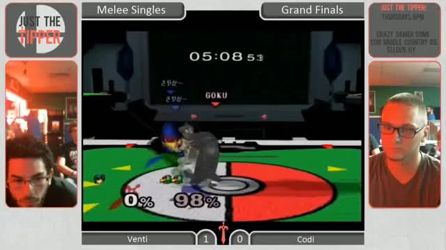 Falco's recovery is terrible