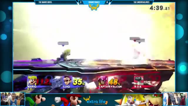 Nice Team Combo to Disrespect Edge-guard
