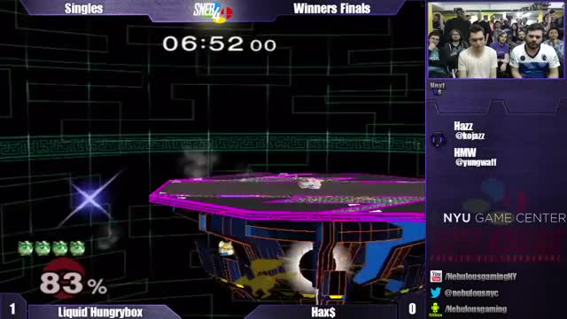 Hungrybox styling on Hax