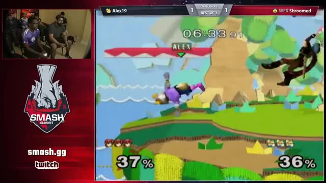 Shroomed gives Alex19 a tour of Yoshi's