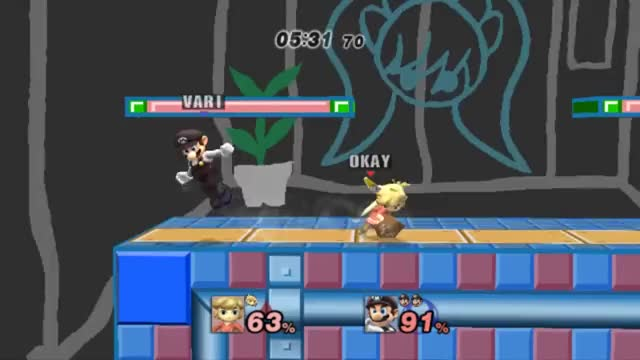 Hella Cute Mario Up-B Kill