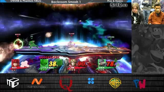 I love Smash 4 doubles