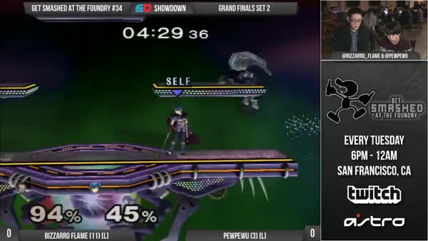 Bizzarro Flame's clutch last stock against PewPewU in Grand Finals