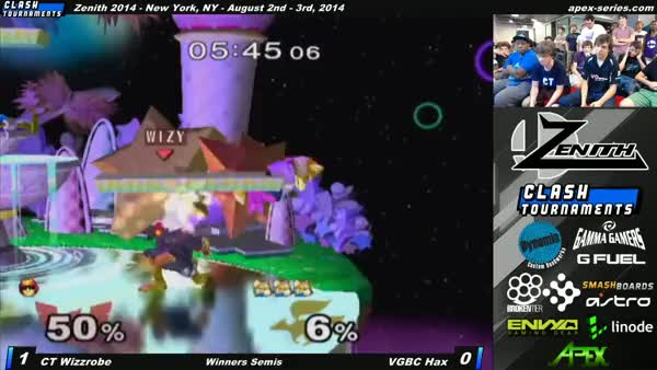 Wizzrobe showing Hax that 20XX isn't real.