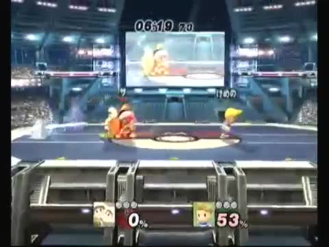 That Moment When Your Lucas Up-Smash Snipes Are On Point