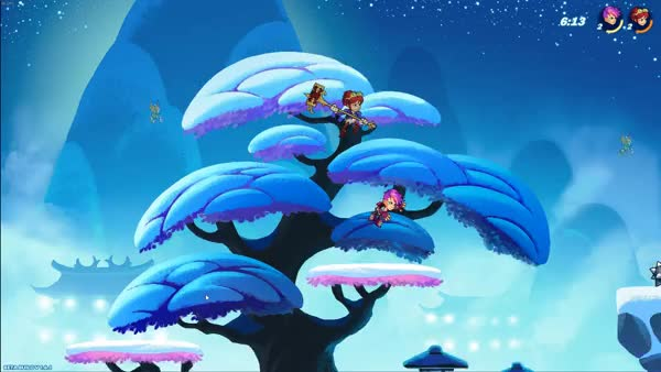 Anyone play this PC Platform Fighter BrawlHalla? How do you think it holds up to smash?