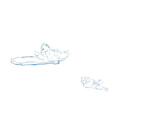 Mango's combo on Plup Animated