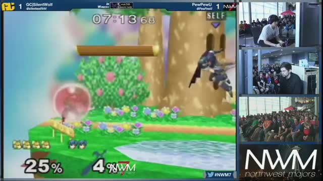 SilentWolf shows PewPewU why Fox is the best character in the game