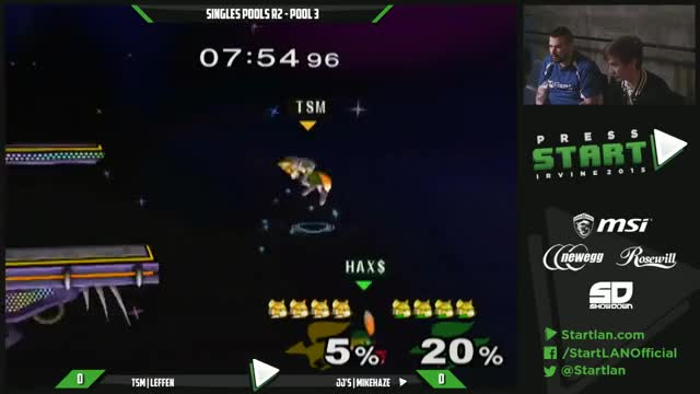 Leffen nabs two quick stocks in 20 seconds