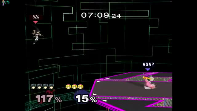 Sick Nasty Combo on Marth with Peach