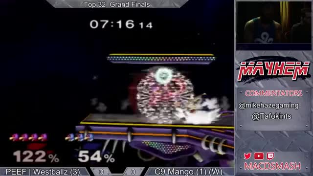 Westballz takes Mango's stock with one careful laser
