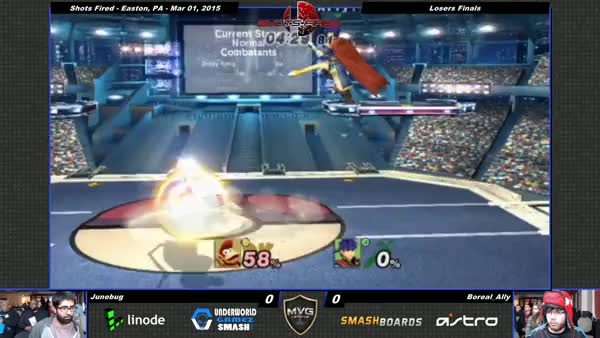 Combos like this are why I rewatch Ally's matches.