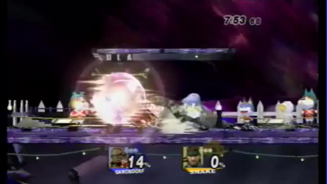 [GIF] DLA's Ganondorf 0 to Deaths MVD's Snake during Apex 2012 Pools