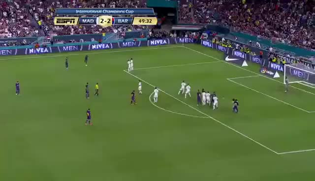 Watch and share Gol De Piqué Real Madrid 2 Vs 3 Barcelona GIFs on Gfycat