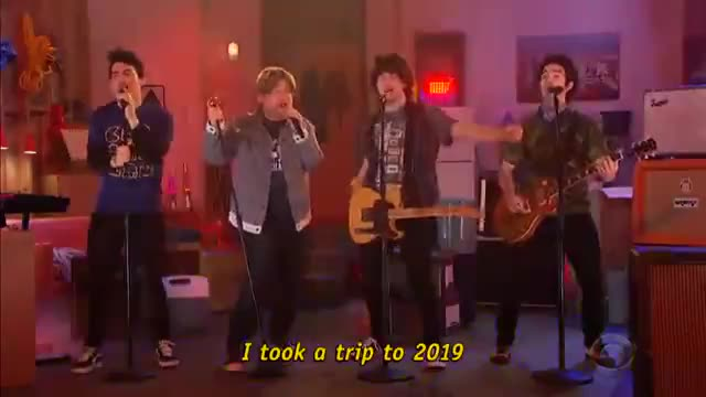 Watch this trending GIF by The Livery of GIFs (@thegifery) on Gfycat. Discover more Hollywood, Humor, cbs, celeb, celebrities, celebrity, comedian, comedy, corden, famous, funny, joke, jokes, latelatejonas GIFs on Gfycat