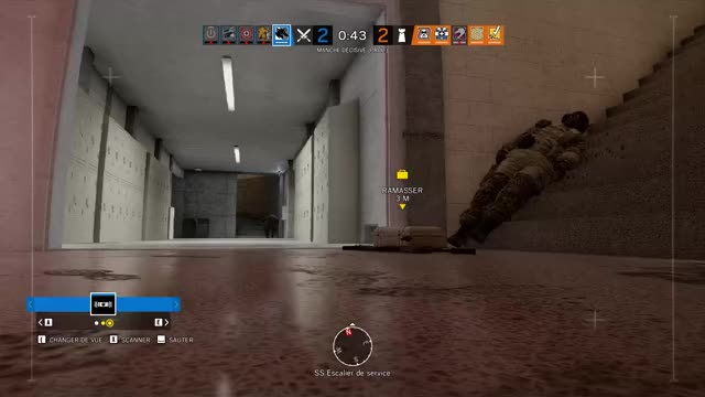 Watch The clutch GIF by Overwolf (@overwolf) on Gfycat. Discover more Gaming, Kill, Overwolf, Rainbow 6 Siege, Win GIFs on Gfycat