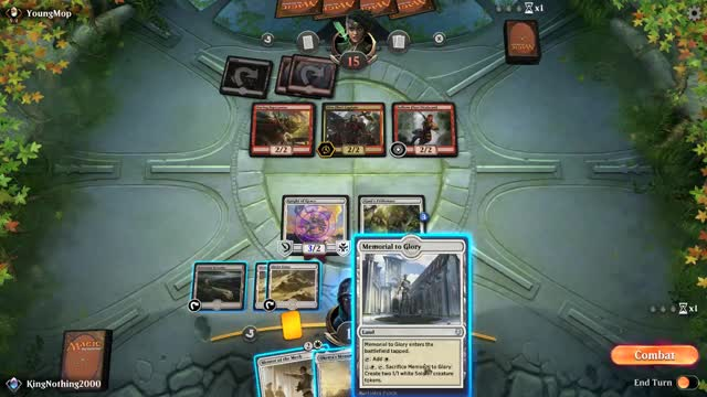 Watch No Defence GIF by KingNothing2000 (@kingnothing2000) on Gfycat. Discover more Gaming, MTG Arena, kingnothing2000 GIFs on Gfycat